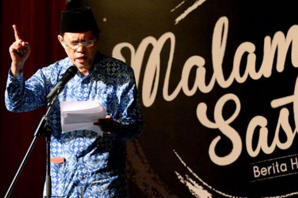 TAMPIL SEKALI LAGI: Wartawan kanan Berita Harian, Encik Mohd Raman Daud, bakal menjadi panelis sesi wacana yang bertajuk 'Apakah Bahasa Melayu 'laku' dalam era digital' . - Foto fail