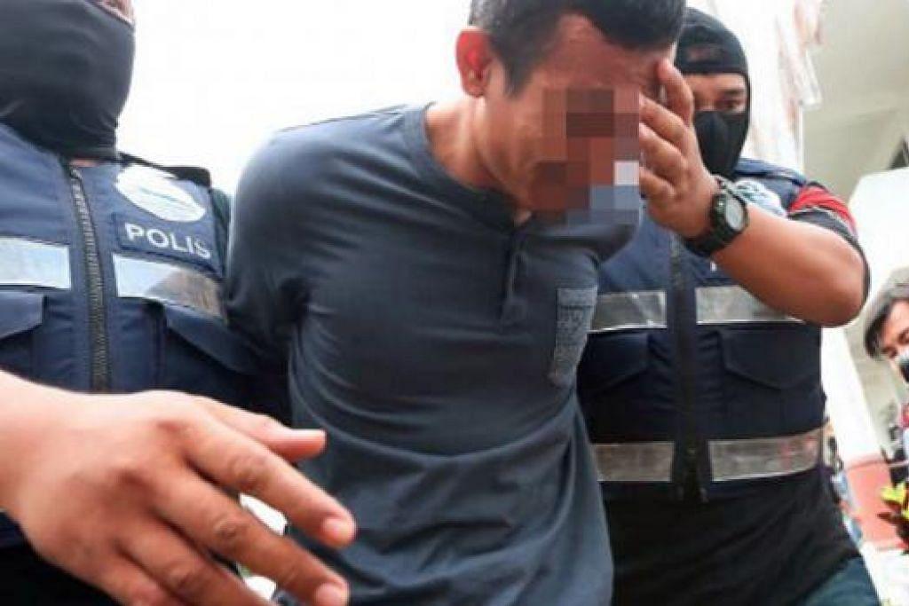 Seorang askar komando Malaysia, Muhammad Adibzakir Zahri, ditangkap dan didakwa di mahkamah di Johor baru-baru ini menggalak orang menyertai ISIS.  Gambar fail BHM