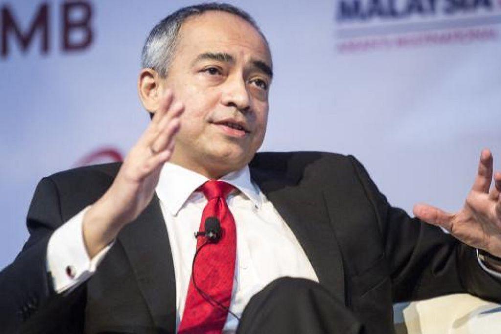 Datuk Seri Nazir Tun Razak berkata kerajaan tidak boleh mengabaikan laporan negatif tentang Malaysia kerana ia mengakibatkan tanggapan lebih buruk mengenai negara itu daripada keadaan sebenarnya. Gambar fail Bloomberg