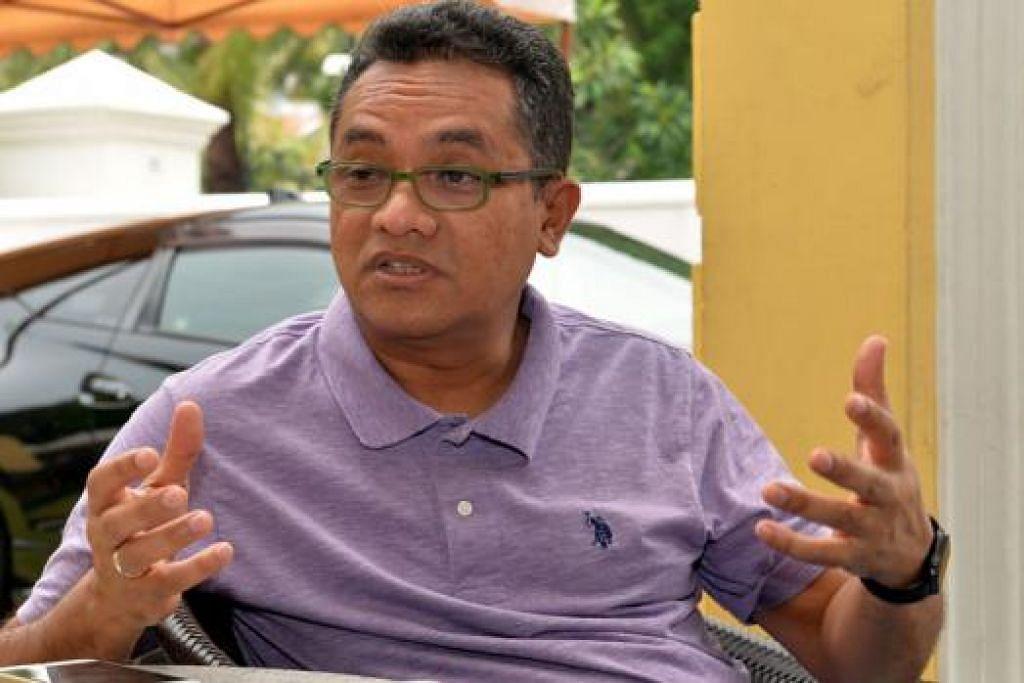 BANYAK MENYUMBANG: Encik Zainudin, yang bersara daripada politik selepas berkhidmat selama tiga penggal sejak 2002, banyak menyumbang termasuk dalam bidang kemasyarakatan, keharmonian kaum, sukan dan perniagaan. Beliau ditemui di jamuan perpisahan anjuran Anggota Parlimen Melayu di Restoran Mamanda Selasa lalu. - Foto M.O. SALLEH