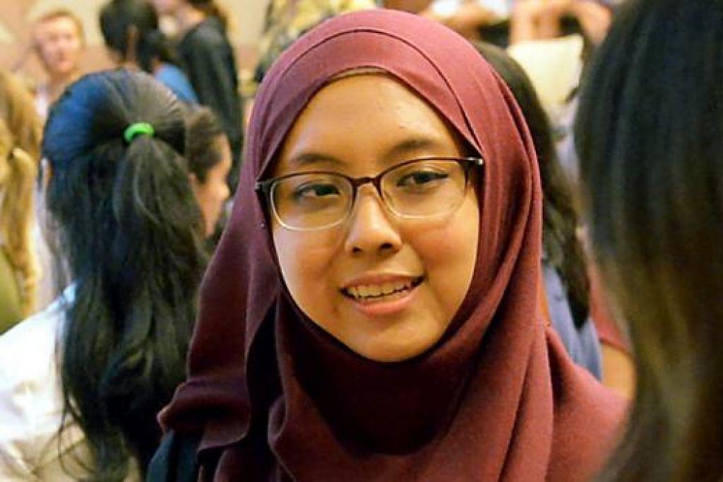 CIK DIYANAH HARDY: Turut giat dalam kempen Girls2Pioneers anjuran Jawatankuasa Singapura bagi Wanita Pertubuhan Bangsa-Bangsa Bersatu yang bertujuan menggalak wanita menceburi kerjaya dalam jurusan sains, teknologi, kejuruteraan dan matematik yang sejauh ini dikuasai kaum lelaki.