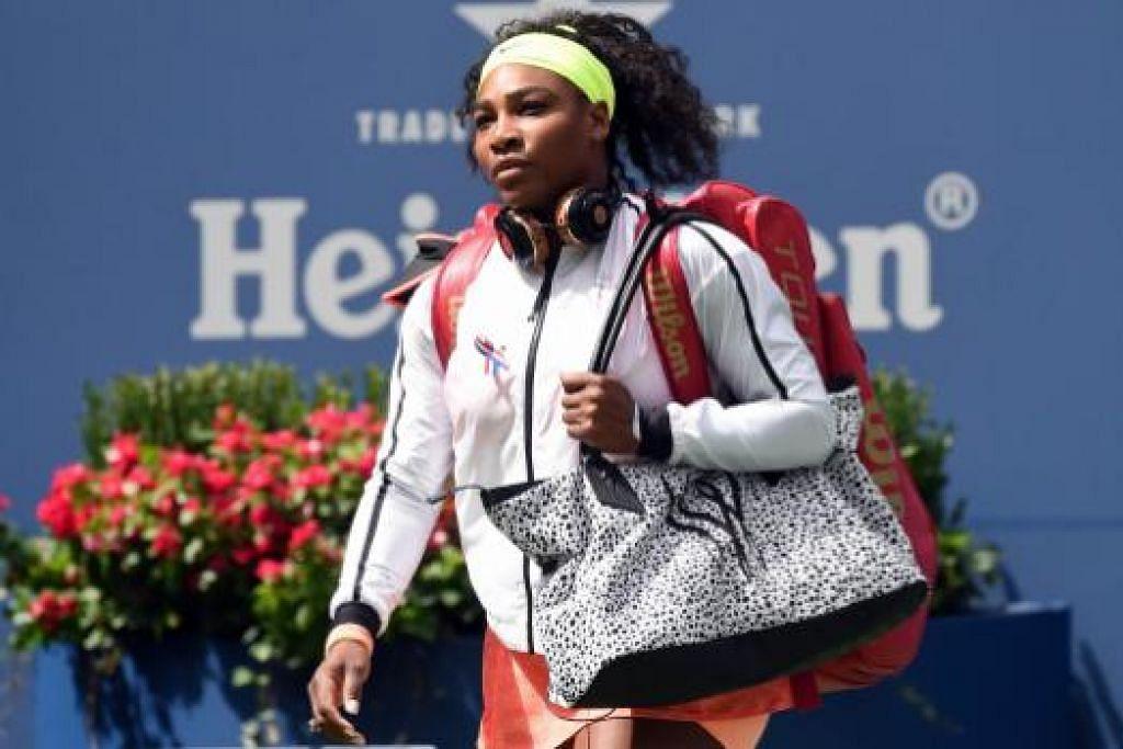 MAHU PULIH SEPENUHNYA DARIPADA KECEDERAAN: Pemain utama tenis wanita dunia, Serena Williams, menamatkan musim lebih awal bagi membolehkan beliau pulih daripada pelbagai kecederaan yang dialaminya sepanjang saingan musim ini.