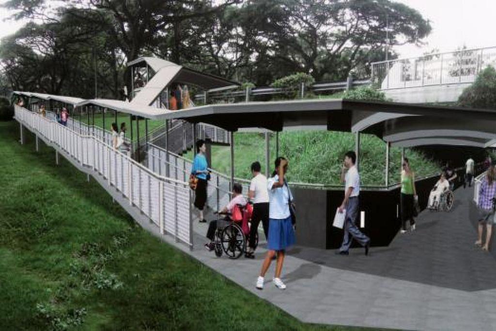 KONGSI LALUAN: Pemerintah sedang mengkaji peraturan dan norma bagi pejalan kaki dan pengguna basikal mengongsi laluan dengan selamat.
