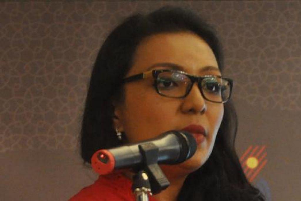 CIK ANNALIZA BAKRI: Guru dan aktivis persuratan ini berkongsi pengalamannya dalam bidang terjemahan Melayu ke Inggeris dan sebaliknya.