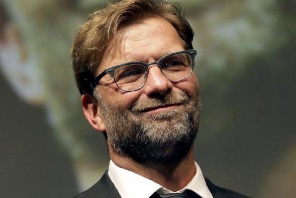 PILIHAN UTAMA: Jurulatih Jerman, Juergen Klopp, pilihan nombor satu bagi menggantikan Brendan Rodgers di Liverpool.