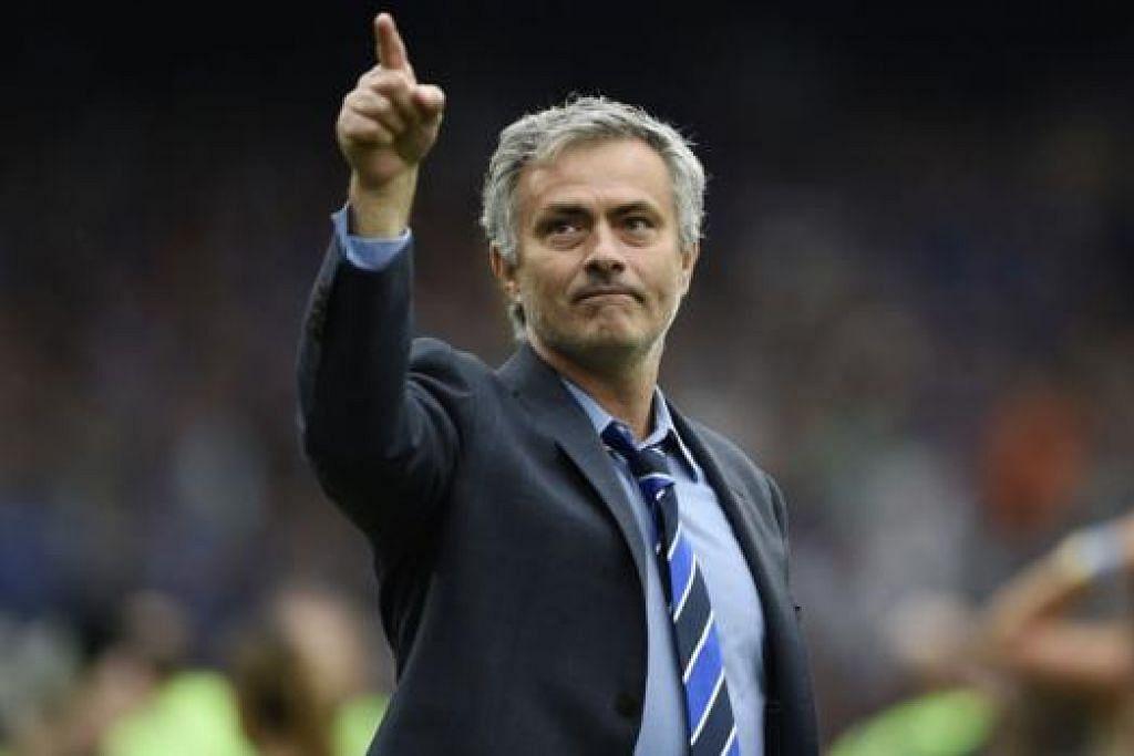 MASIH TERIMA SOKONGAN: Jose Mourinho masih menerima sokongan majikannya.