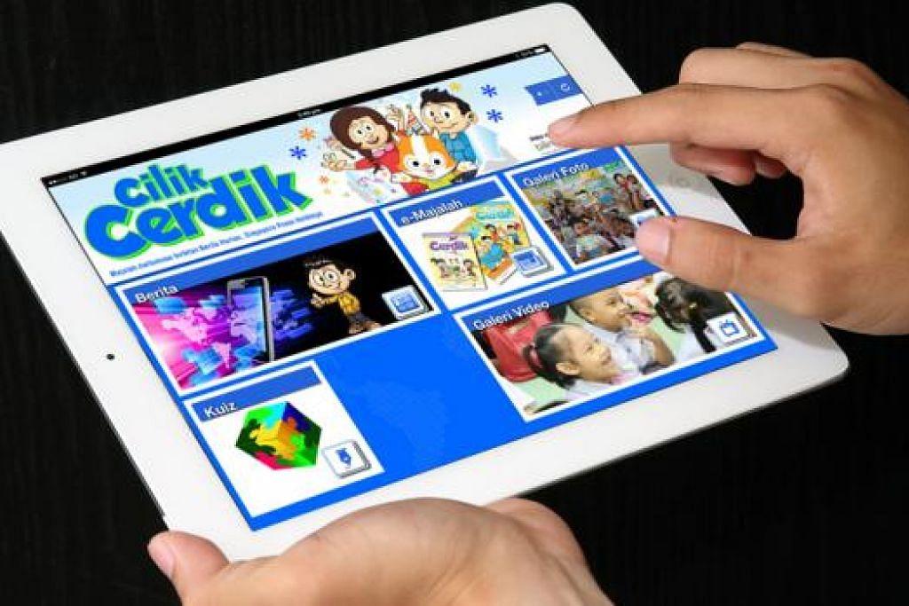 APLIKASI BARU: Ibu bapa kini boleh memuat turun aplikasi Cilik Cerdik. - Foto CILIK CERDIK
