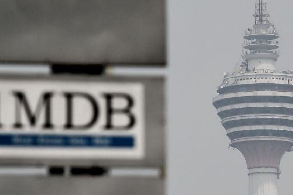Raja-Raja Malaysia bimbang jika isu 1MDB tidak dikendalikan dengan bijak dan berlarutan, ia boleh menjejaskan ekonomi dan kehidupan rakyat. Gambar fail AFP