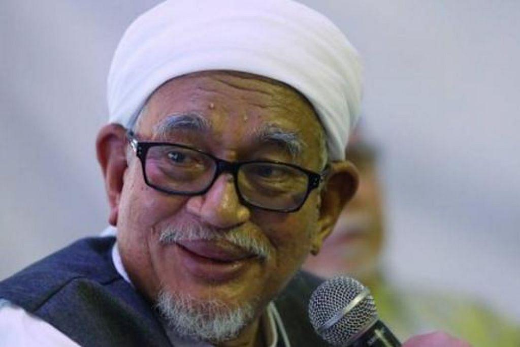Datuk Seri Hadi Awang mahu Mahkamah Tinggi Malaysia batalkan tuntutan mahkamah oleh empat individu yang cuba menghalang PAS membentangkan di parlimen rang undang-undang yang akan membuka jalan bagi pelaksanaan hudud. Gambar fail NSTP