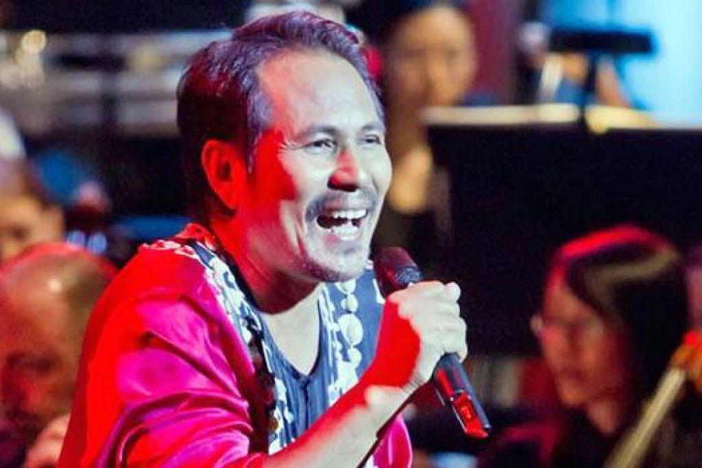 M.NASIR: Berjanji memberikan persembahan yang lebih baik berbanding konsert jelajahnya di Kuantan, Pasir Gudang dan Pulau PInang sebelum ini.