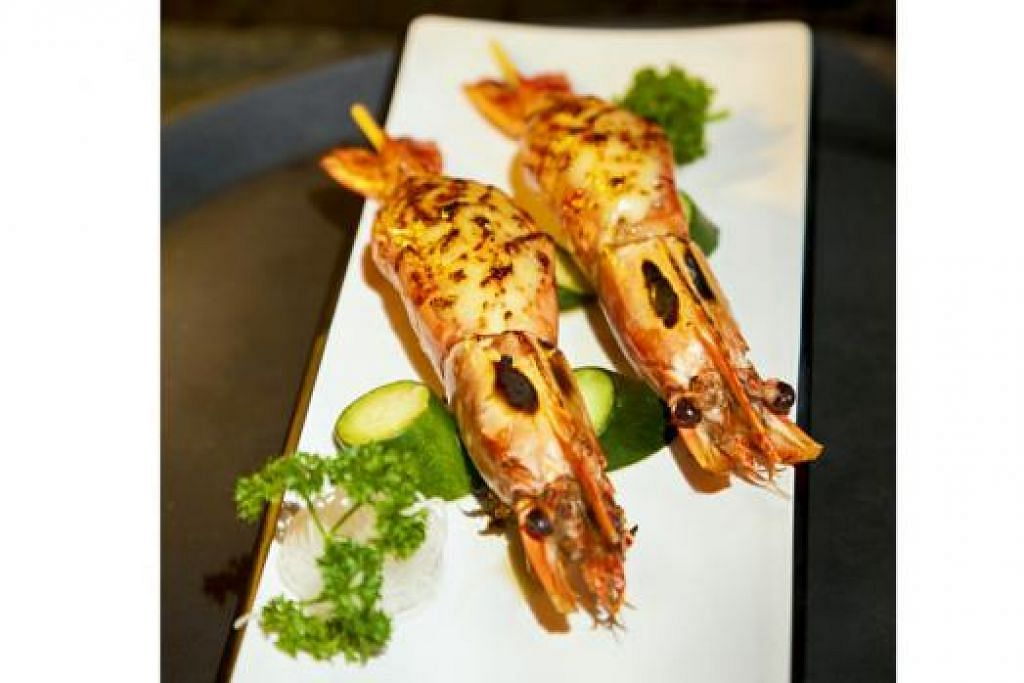PRAWN WITH ROE AND MAYONNAISE