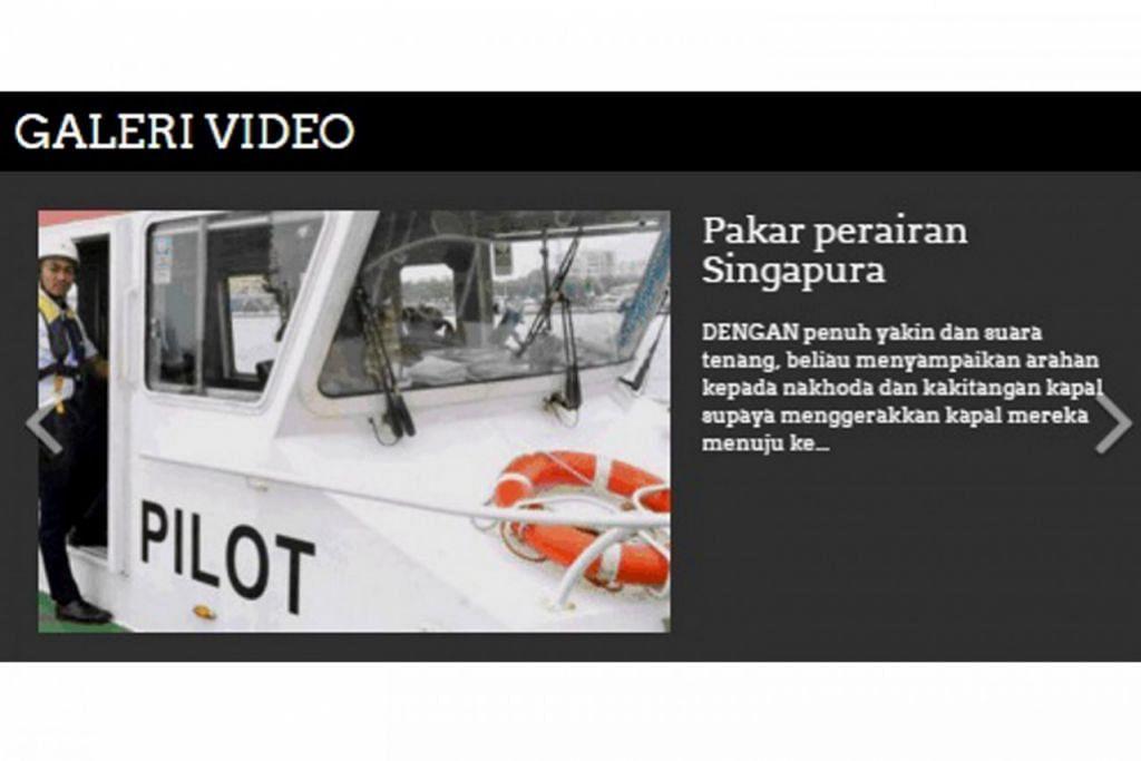 DIKEMAS KINI: Laman web BeritaHarian.sg turut memuatkan senarai video yang diterbitkan sendiri oleh kru Berita Harian.