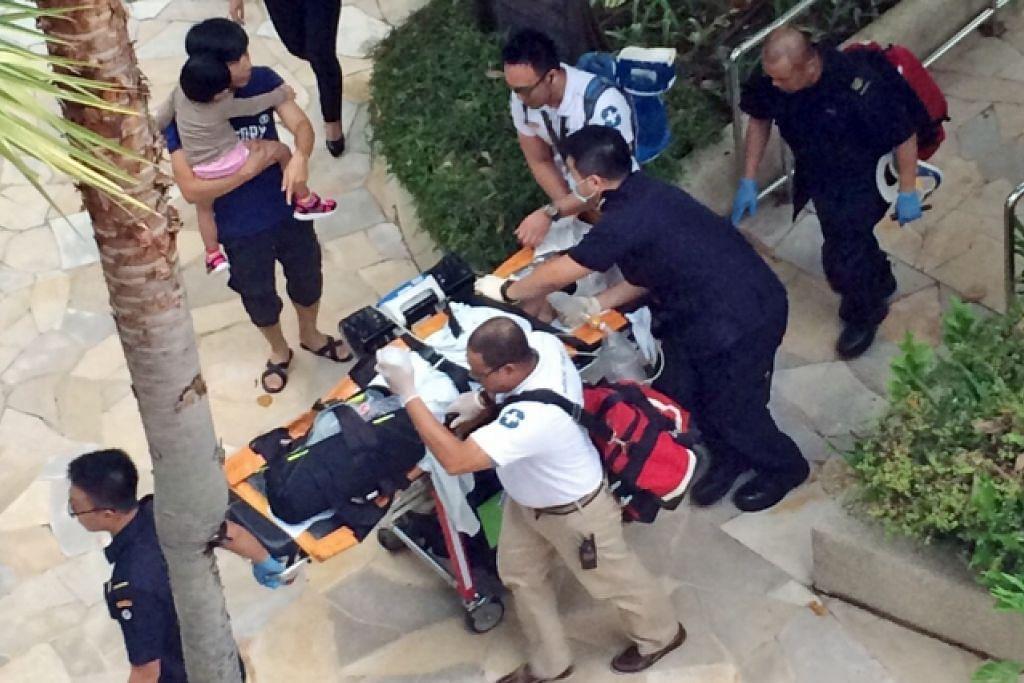Seorang budak lelaki berusia tujuh tahun lemas di kolam Hotel Hard Rock di Resorts World Sentosa pada Jun 2015. t