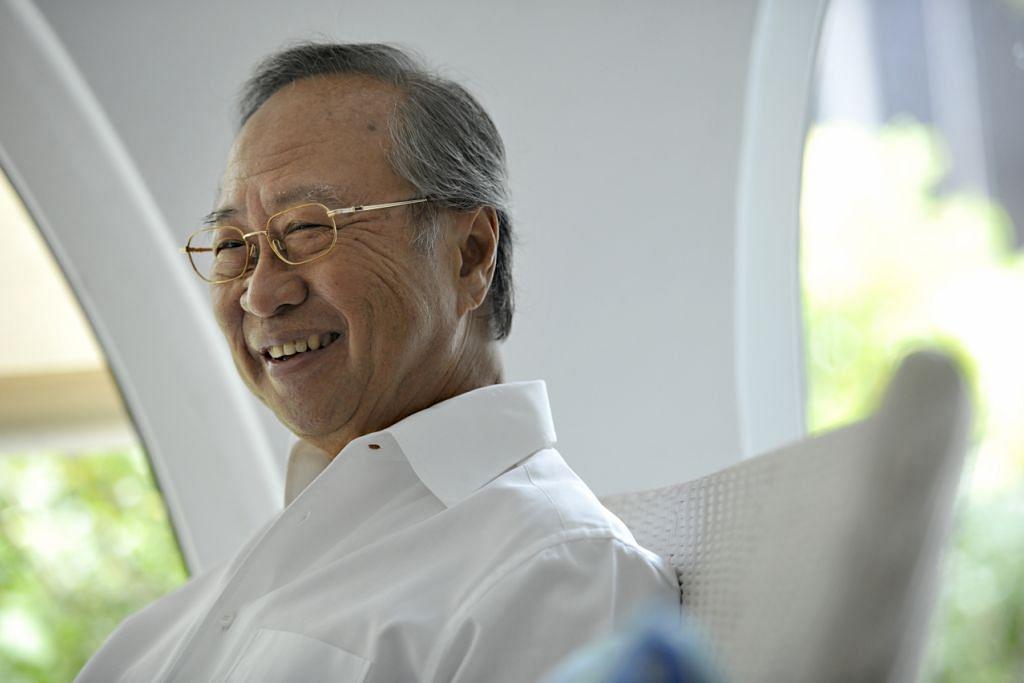 Dr Tan Cheng Bock. Gambar fail: