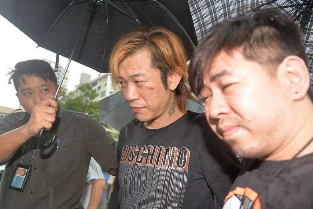 MENGAKU SALAH: Jackson Lim Hou Peng dipenjara 9 tahun 6 bulan dan disebat tiga kali kerana menyebabkan kematian temanitanya pada 2014. - Foto