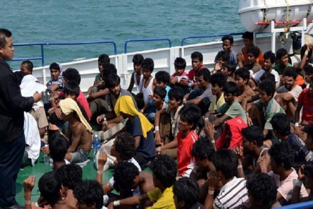 SEDIA TIRU: Etnik Benggali tinggal di wilayah Chittagong, di Bangladesh, yang bersempadan dengan Myanmar, dan berdekatan dengan negeri Rakhine di Myanmar yang banyak diduduki etnik Rohingya. - Foto