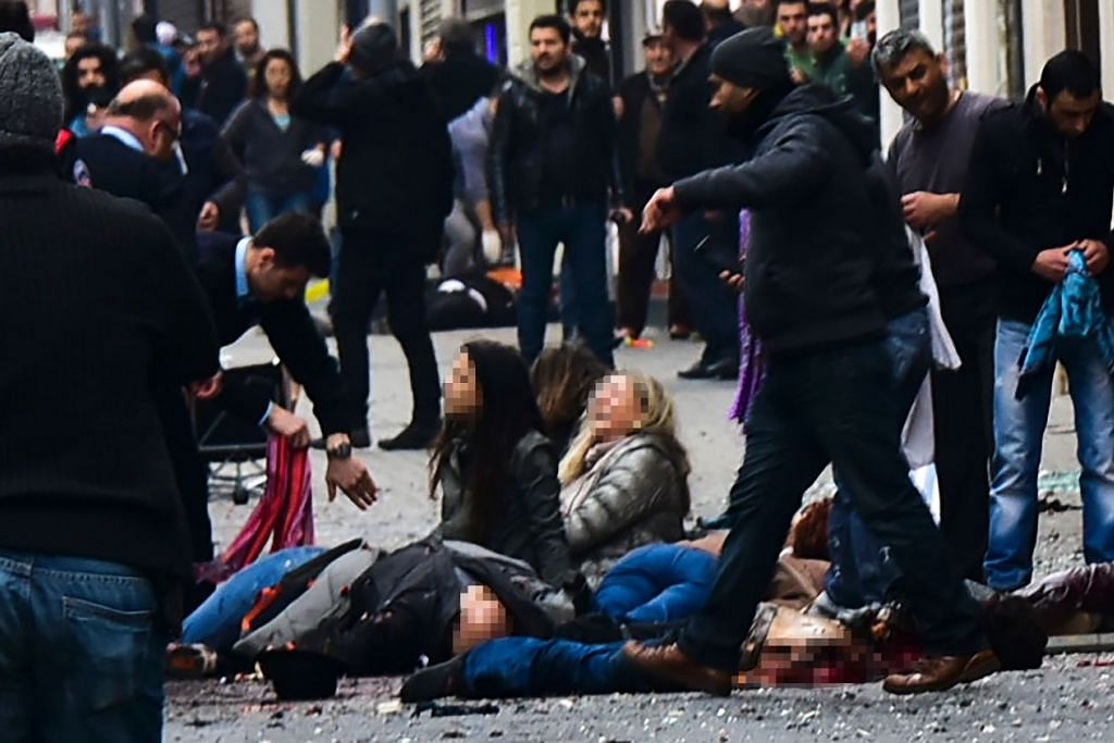 Turkey berkata serangan bunuh diri di  Istiklal Caddesi di Istanbul, yang membunuh empat orang, dilakukan seorang lelaki yang ada kaitan dengan ISIS.