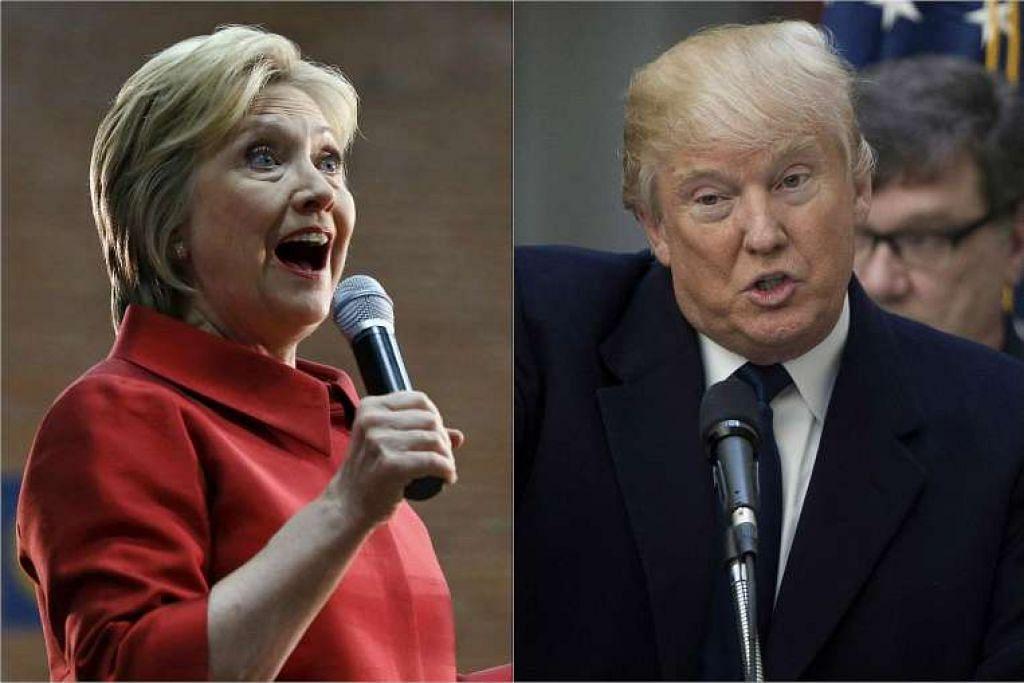 Cik Hillary Clinton daripada Demokrat dan Encik Donald Trump daripada Republikan dijangka memenangi pencalonan presiden parti masing-masing 'di Arizona pada  Selasa (22 Mac, waktu Amerika Syarikat).
