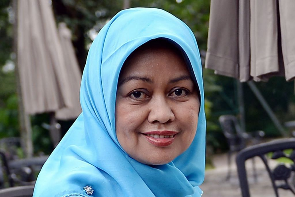 Ketua Pegawai Eksekutif (CEO) Yayasan Mendaki, Cik Tuminah Sapawi.