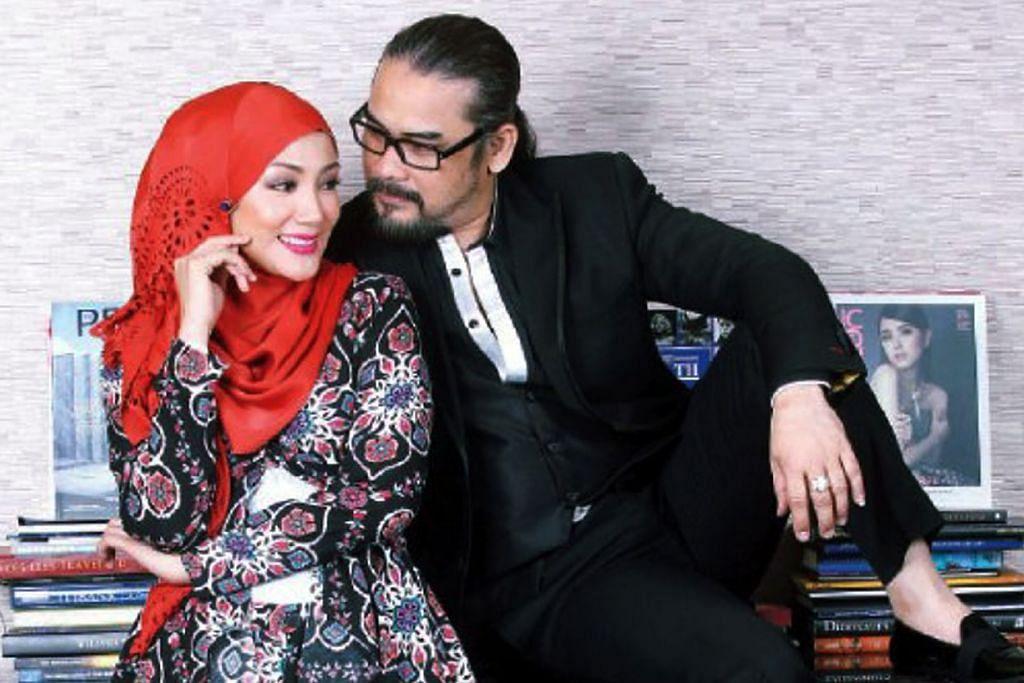 Awie dan Erra berpasangan dalam filem Warna Cinta Impian.