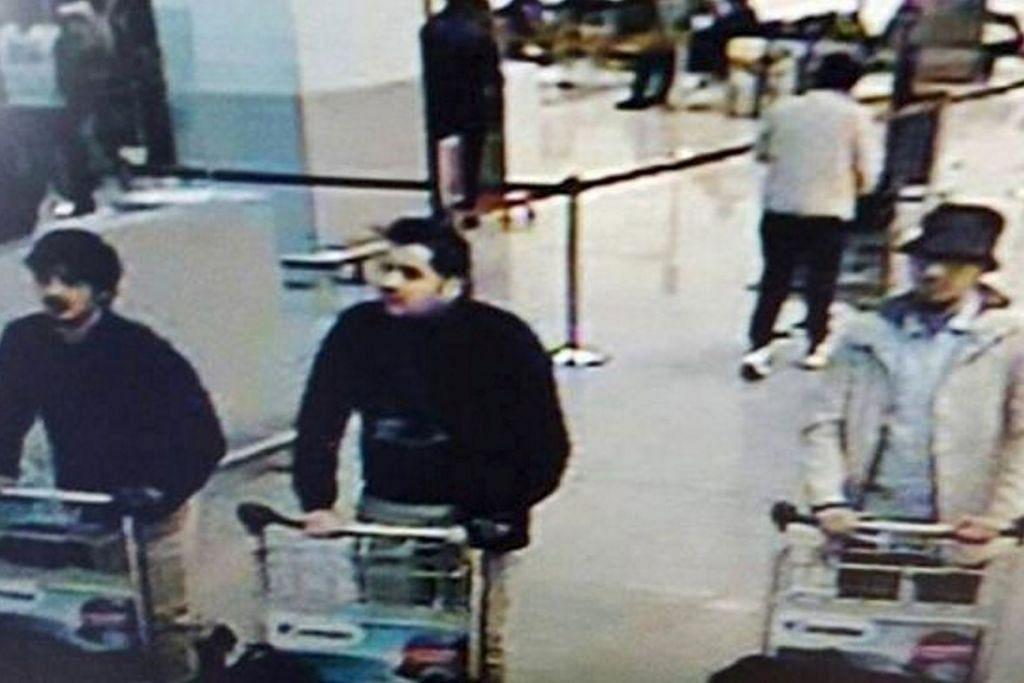 Polis Belgium pada Isnin (28 Mac) mengeluarkan rayuan baru untuk mendapatkan maklumat mengenai lelaki yang memakai topi dalam rakaman CCTV di lapangan terbang Brussels, yang bersama dua pengebom bunuh diri dalam serangan di Brussels. Ini setelah suspek yang sebelum ini dikatakan ada lelaki yang memakai topi itu dibebaskan kerana kekurangan bukti.