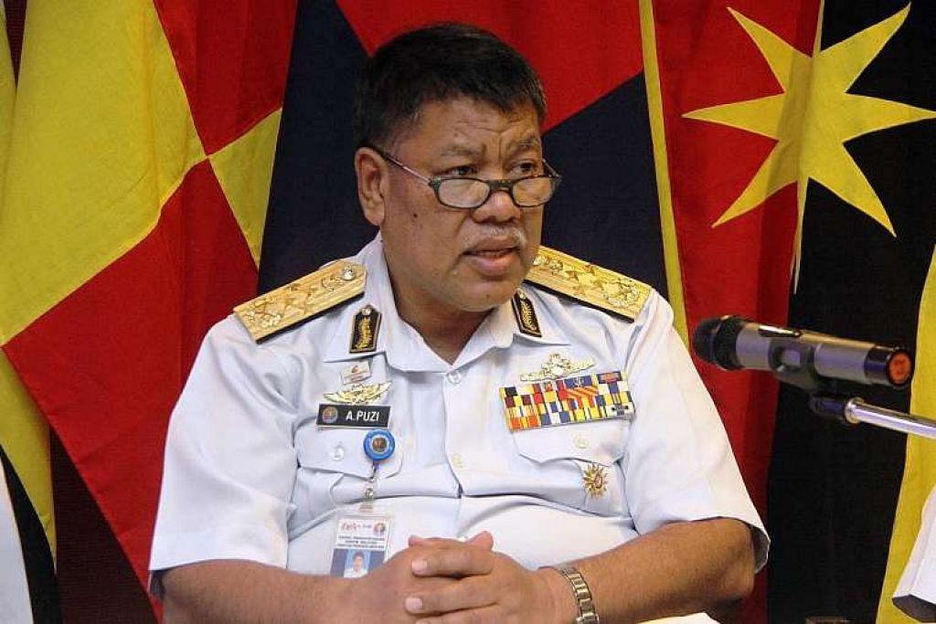 Ketua Agensi Penguatkuasaan Maritim Malaysia (APMM), Datuk Ahmad Puzi Ab Kahar,