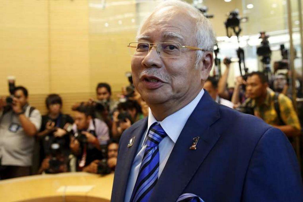 Perdana Menteri Datuk Seri Najib Razak di majlis perasmian pejabat baru Bank Dunia di Kuala Lumpur pada 28 Mac 2016.