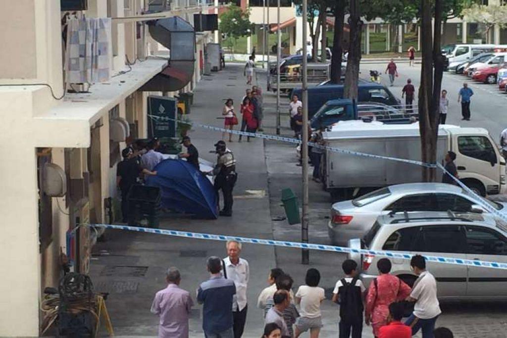 Cik Poh Ah Gin sedang mengumpul kadbod di belakang sebuah kedai kopi di Blok 123, Bedok North apabila seorang pemandu teksi berusia 64 tahun hilang kawalan teksi Hyundai Sonatanya, naik ke atas bebendul jalan dan melanggar beliau dua kali.