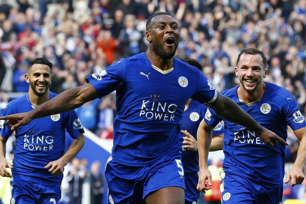 Wes Morgan merai gol pertamanya buat Leicester City, yang mengalahkan Southampton 1-0 dalam perlawanan EPL di Stadium Kong Power pada Ahad, 3 Apr.