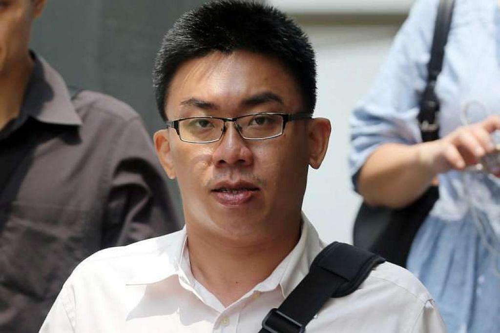 Chia Choon Kiat didakwa di mahkamah pada Selasa (12 April) dengan tiga tuduhan menyampaikan rekod elektronik mengandungi hasutan keganasan.