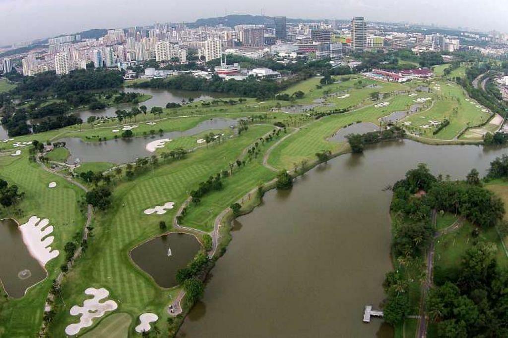 Tapak Jurong Country Club yang akan menjadi terminal HSR antara Singapura dan Kuala Lumpur.