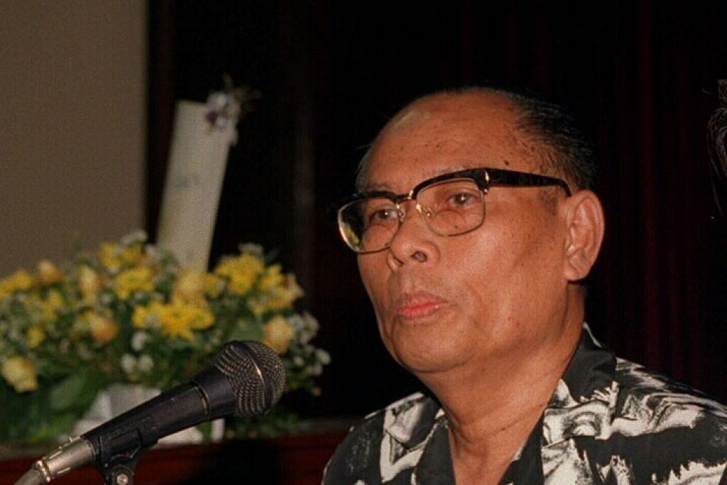 MENGHADAP ILLAHI: Bekas tahanan politik yang juga mantan editor Utusan Melayu, Allahyarham Said Zahari, 88 tahun, meninggal dunia hari ini pada 12.30 tengah hari tadi. - Foto THE STRAITS TIMES