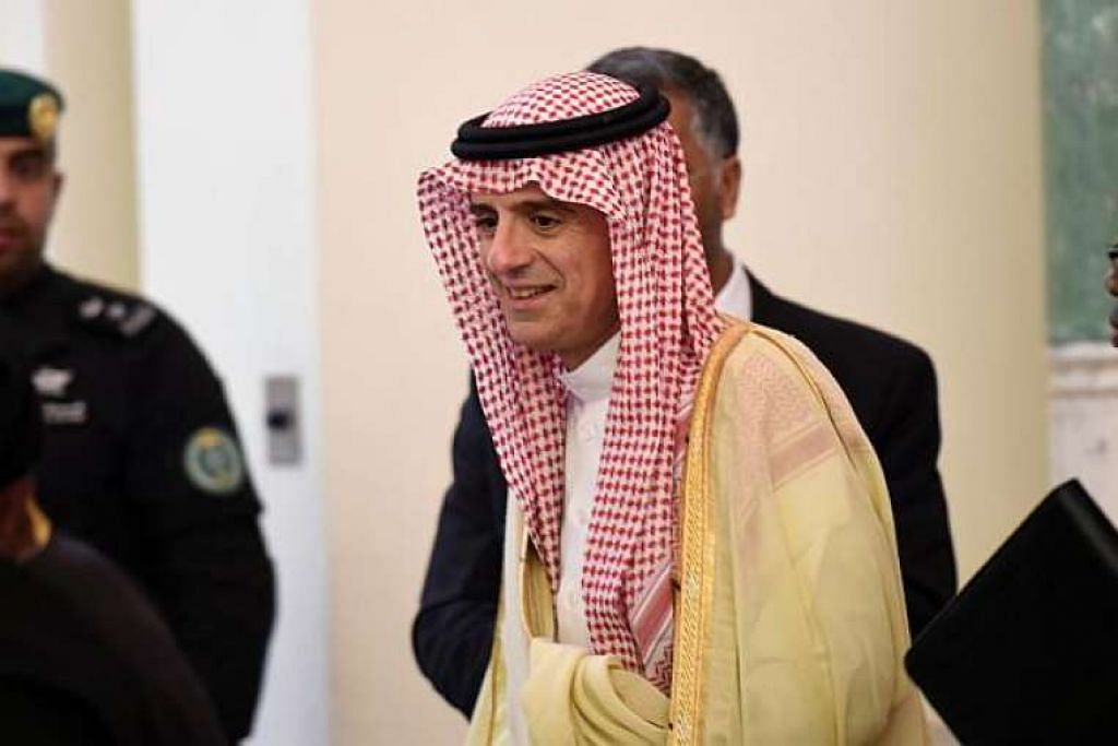 Menteri Luar Arab Saudi, Encik Adel al-Jubeir.