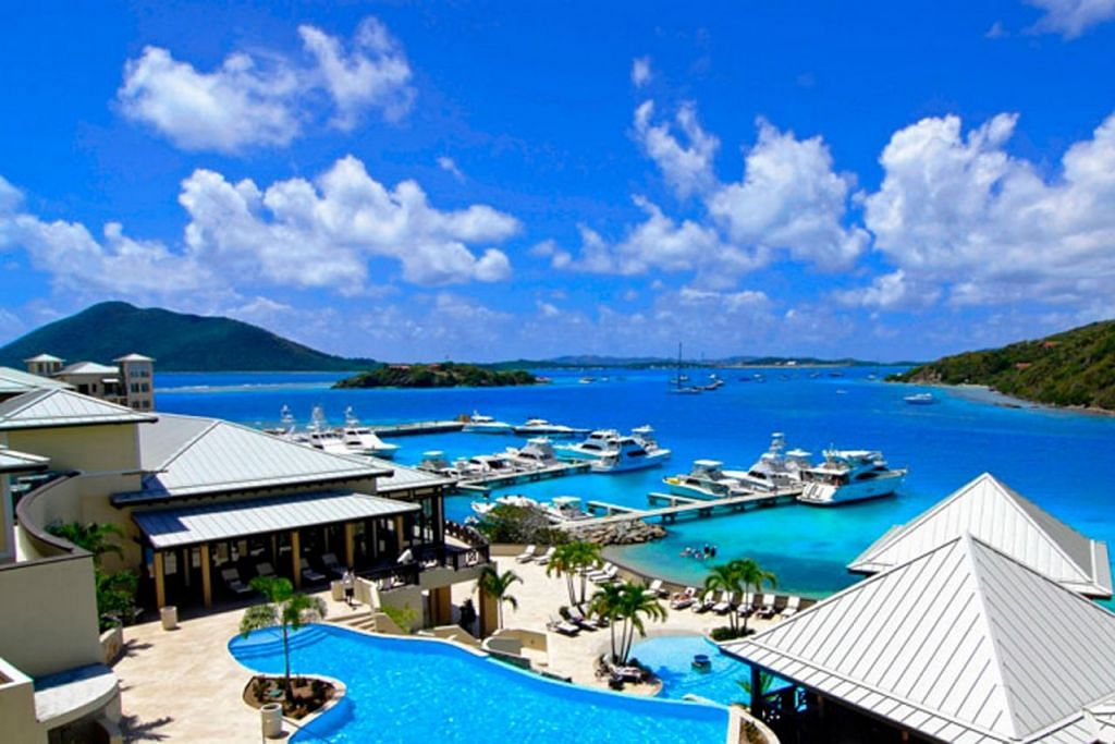 JADI TUMPUAN: British Virgin Islands (BVI) yang merupakan pulau peranginan yang popular, juga amat terkenal sebagai pusat kewangan luar pesisir. - Foto BVI