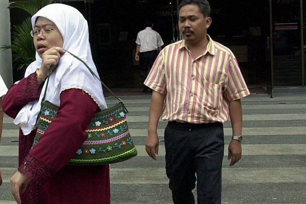 Pasangan suami isteri Mohamad Dahlan dan Zariah Mohd Ali pernah mengaku bersalah mendera pembantu rumah mereka pada 2001.