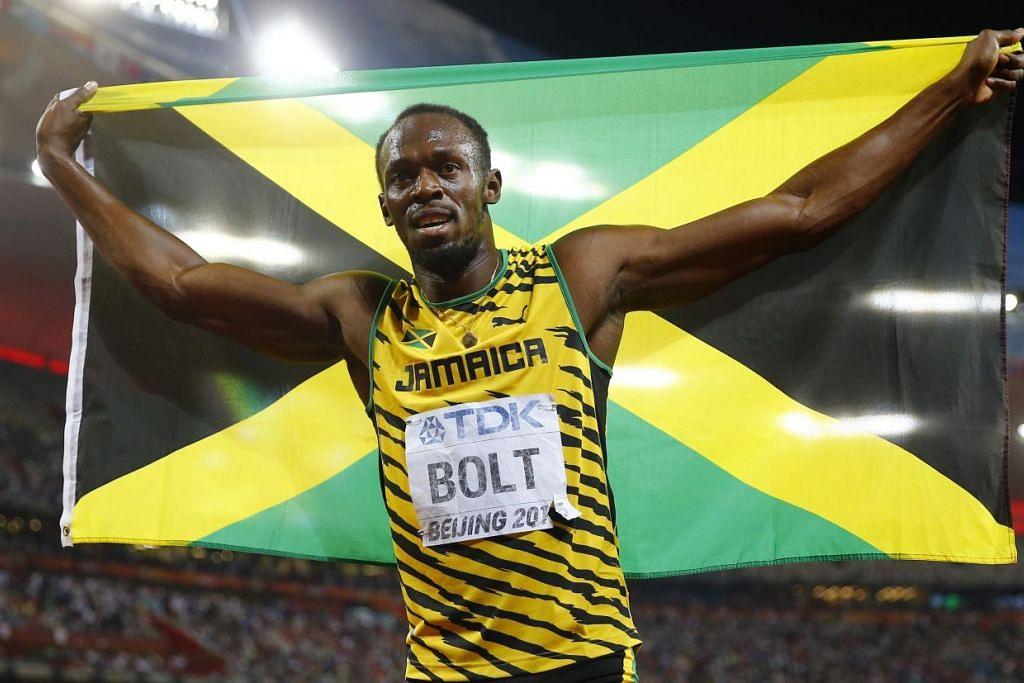 CATAT SEJARAH: Raja pecut dunia, Usain Bolt, mahu menempa kejayaan dalam larian 200 meter semasa Sukan Olimpik di Brazil pada Ogos ini. - Foto REUTERS