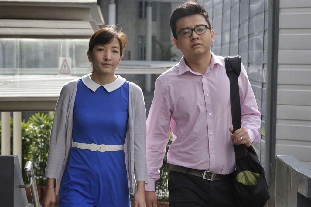 MAJUKAN AGENDA DENGAN MAKLUMAT PALSU: Ai Takagi (kiri) dan suaminya Yang Kaiheng menghadapi tuduhan menerbitkan artikel di laman The Real Singapore yang menghasut dan mewujudkan ketegangan antara warga Singapura dan warga asing.  - Foto fail