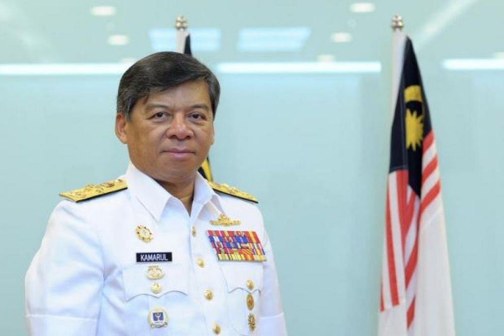 PENCAPAIAN BESAR: Menurut Panglima Tentera Laut Diraja Malaysia (TLDM), Laksamana Datuk Seri Ahmad Kamarulzaman Ahmad Badaruddin, TLDM kini boleh berbangga apabila sudah dilihat sebagai 'Blue Water Navy' atau Tentera Laut Lepas bertaraf dunia. - Foto mSTAR ONLINE