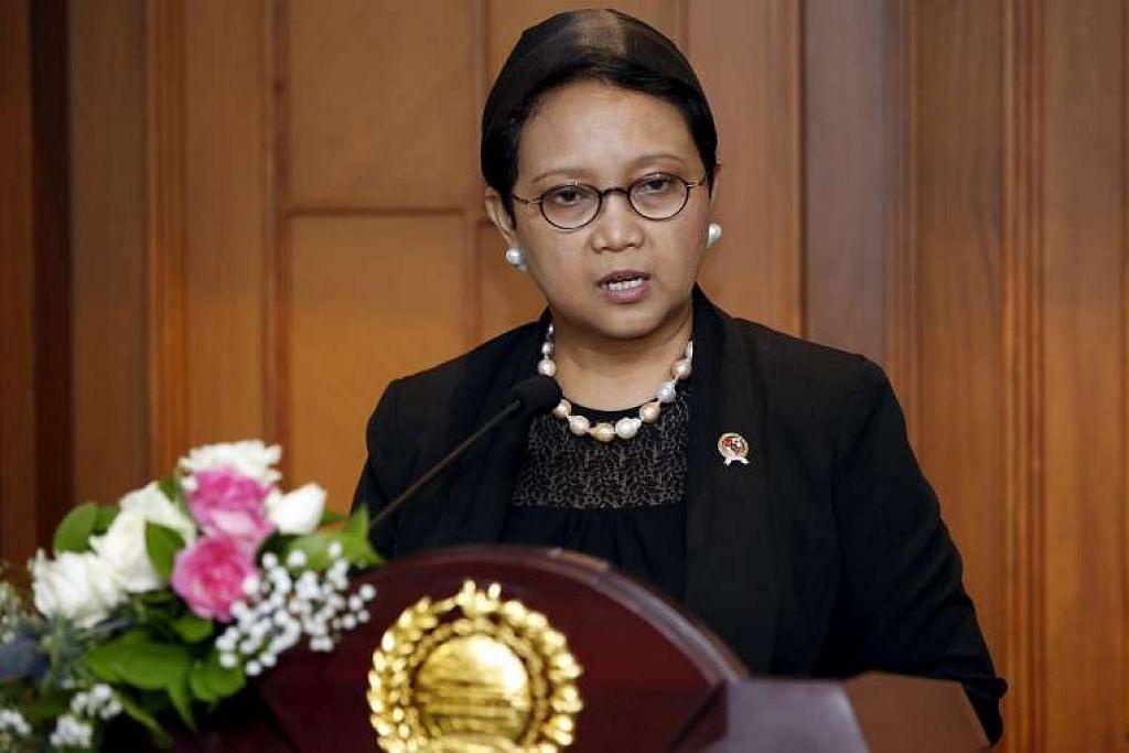 Menteri Luar Indonesia, Cik Retno Marsudi, menghantar senarai banduan pelarian kepada pihak berkuasa Singapura baru-baru ini.