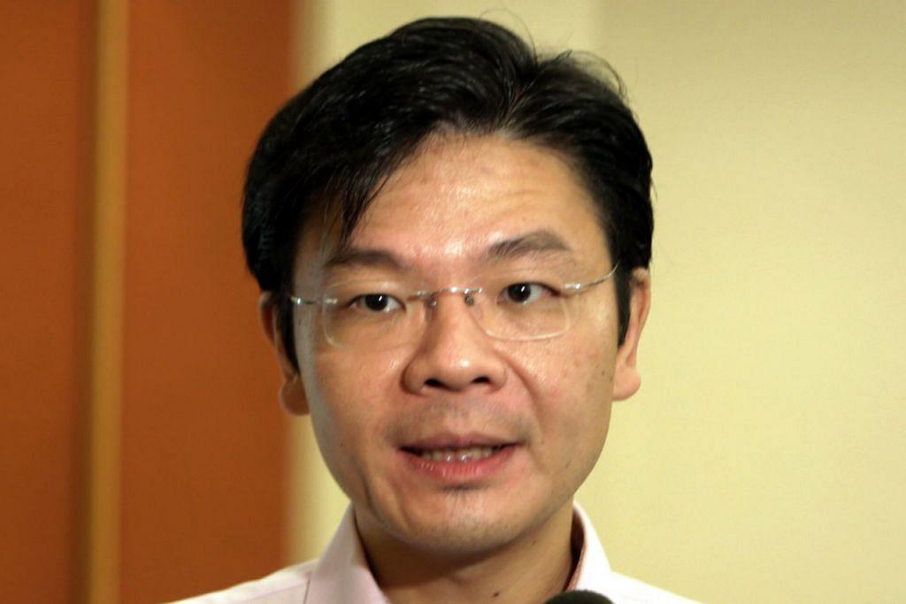 ENCIK LAWRENCE WONG: Bakal menghadiri Mesyuarat Kerjasama Jawatankuasa Bandar Eko Tianjin Sino-Singapura.
