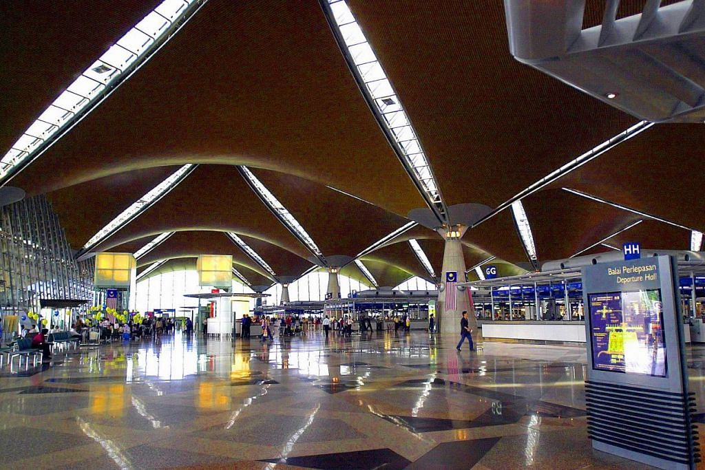 Lapangan Terbang Antarabangsa Kuala Lumpur.