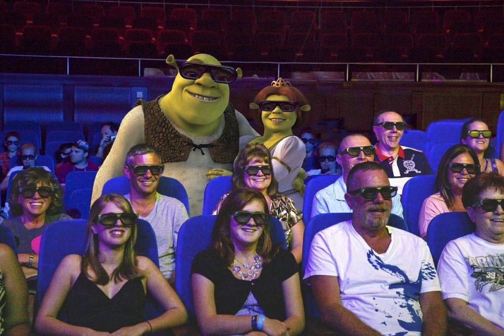 HIBURAN: Pelbagai hiburan seperti tonton filem 3D menanti tetamu di atas kapal persiaran  Mariner of the Seas. - Foto ROYAL CARIBBEAN INTERNATIONAL