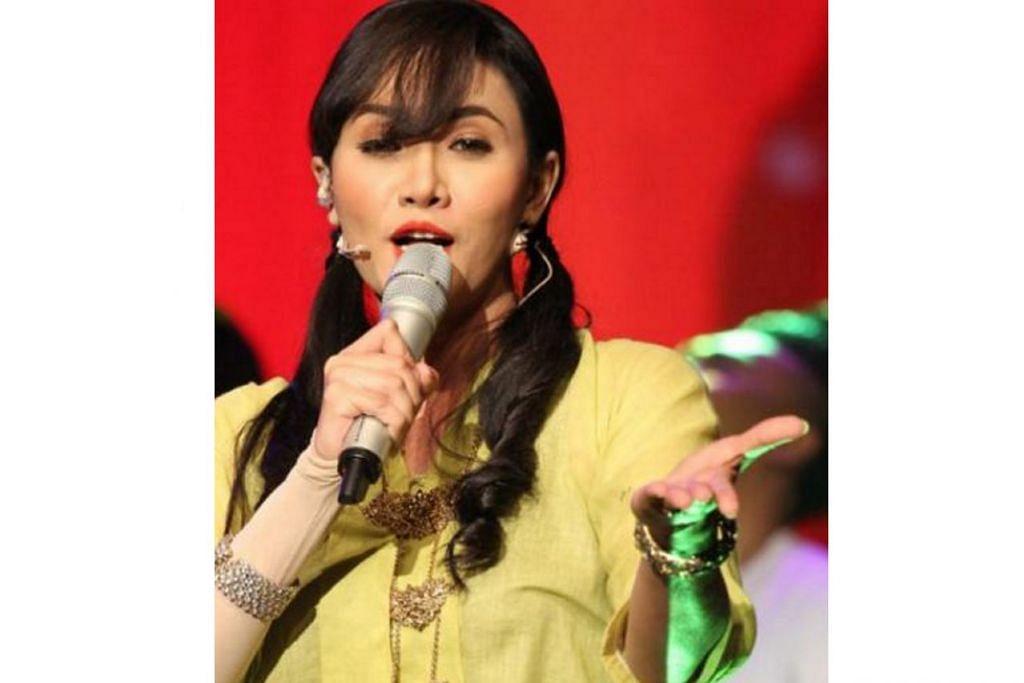 KECIL HATI: Pelakon Siti Elizad tidak puas hati dianggap seorang artis tidak berdisiplin. - Foto WWW.ASTROGEMPAK.COM.MY