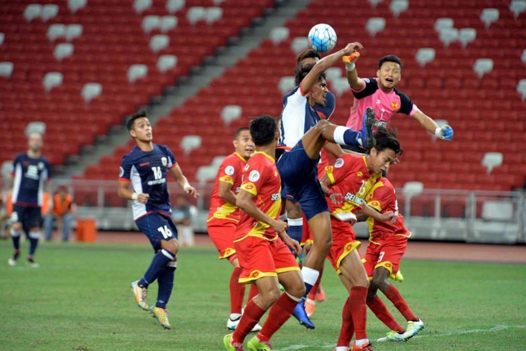 Tampines menewaskan Selangor 1-0 di Stadium Negara