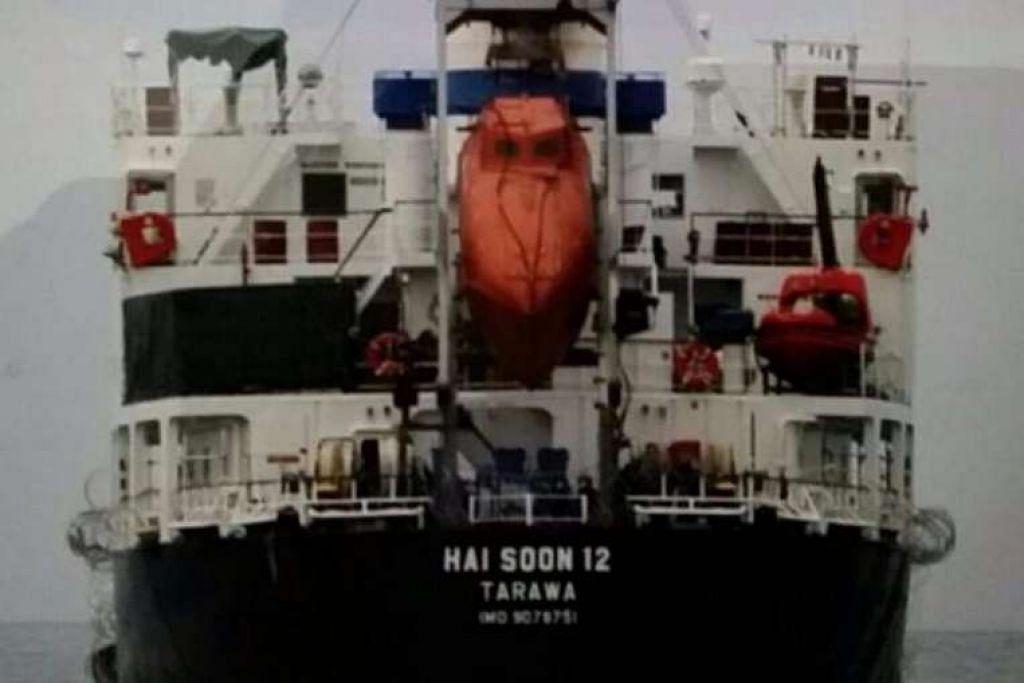 Kapal MV Hai Soon 12.