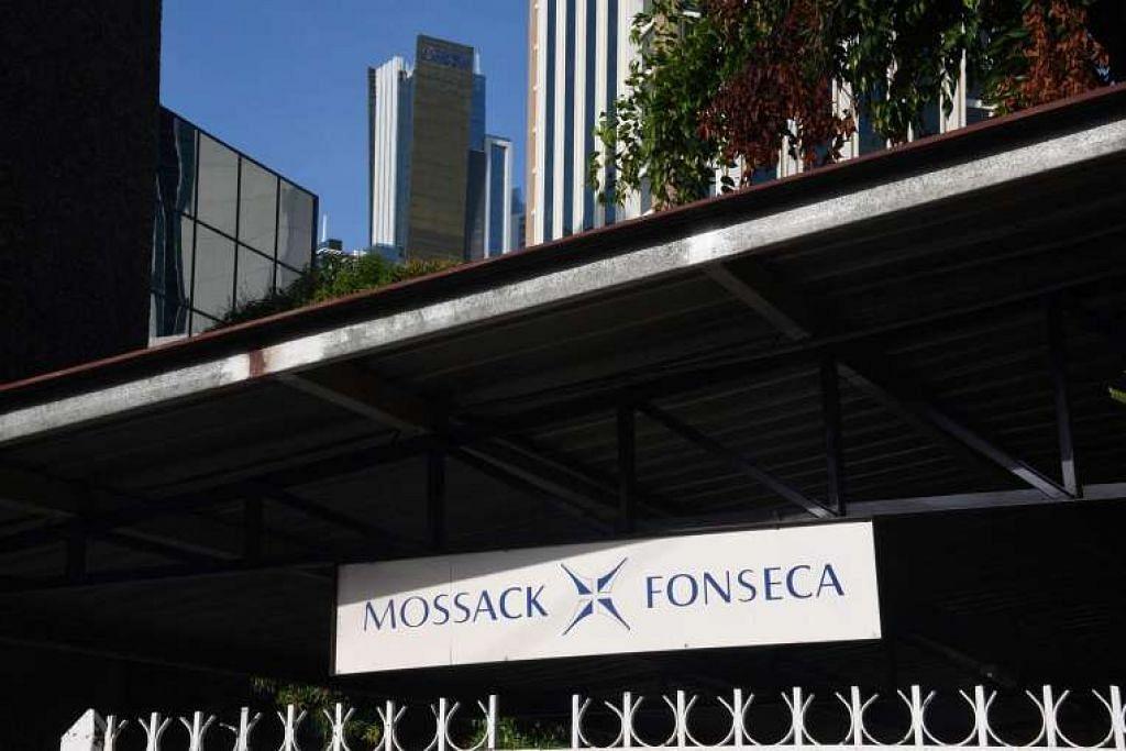Bangunan di mana pejabat firma undang-undang Mossack Fonseca terletak di Panama City.