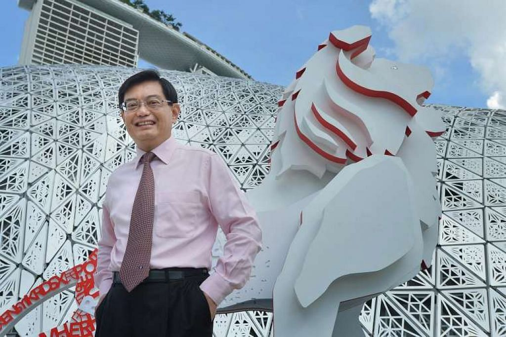 Encik Heng Swee Keat di  pameran Masa Depan Kita di Gardens By The Bay pada 3 Dis 2015.
