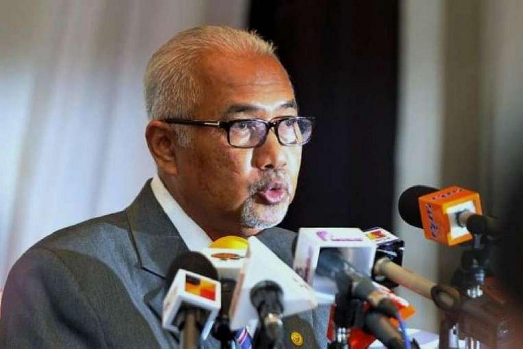 Pengerusi Suruhanjaya Pilihan Raya Malaysia, Datuk Seri Mohd Hashim Abdullah.