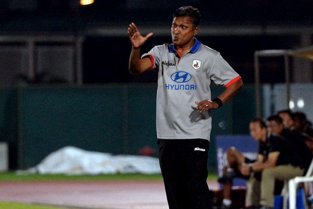 V. Sundramoorthy dikatakan menjadi calon pilihan utama bagi menjadi jurulatih pasukan bola sepak nasional Singapura.