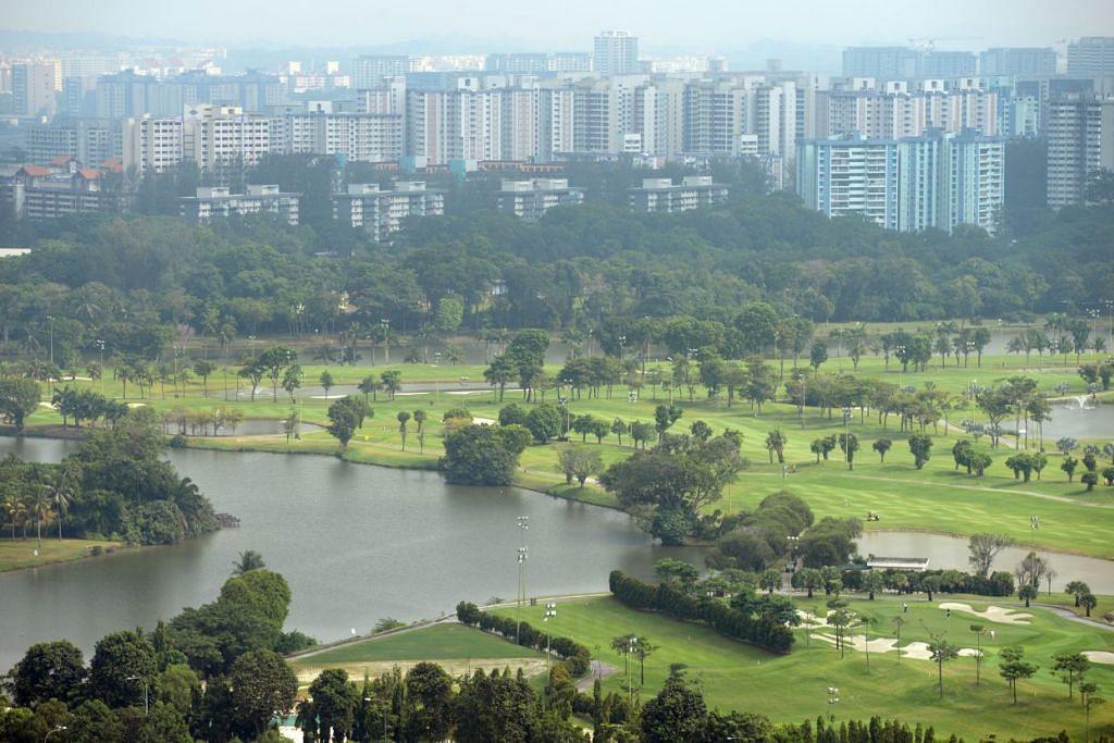 Tapak Jurong Country Club di Jurong yang telah diperoleh pemerintah untuk dijadikan terminal bagi kereta api berkelajuan tinggi antara Singapura dan Kl.